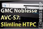 GMC Noblesse AVC-S7 Slimline HTPC Case