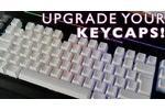 Corsair PBT Double-Shot Keycaps White