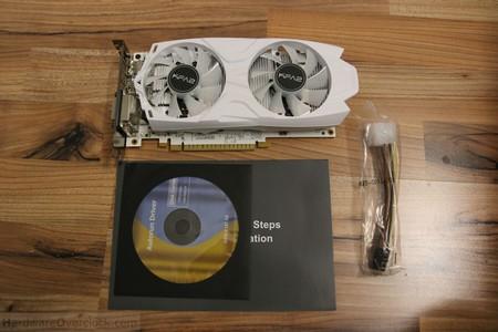 KFA2 GeForce GTX 1050 Ti EXOC White