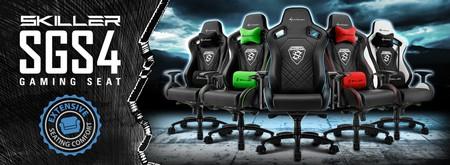 Sharkoon Skiller SGS4 Gaming Seat