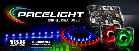 Sharkoon Pacelight RGB Illumination Set