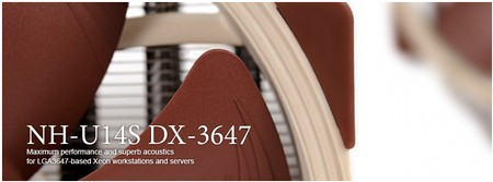 Noctua NH-U14S DX-3647 NH-U12S DX-3647 und NH-D9 DX-3647 4U