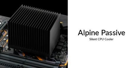 Arctic Alpine AM4 Passive und Alpine 12 Passive