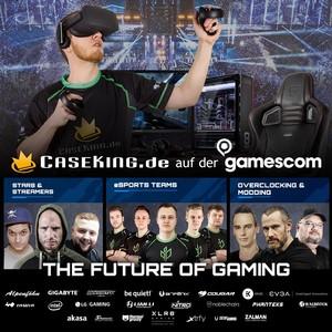 Caseking auf der gamescom 2018