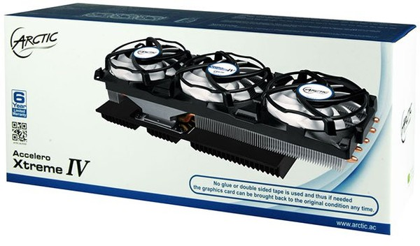 Arctic Accelero Xtreme IV GPU Cooler