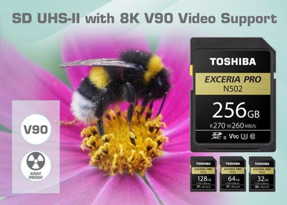 Toshiba N502 UHS-II Exceria Pro