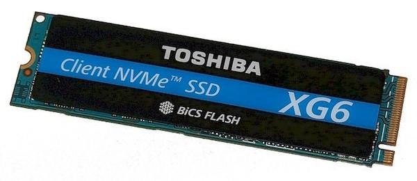Toshiba XG6 NVMe SSD