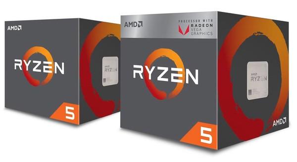 AMD Ryzen 5 2500X und AMD Ryzen 3 2300X