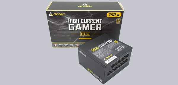 Antec HCG 750W Gold PC Netzteil