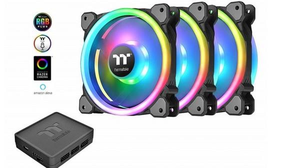 Thermaltake Riing Trio 12 RGB Fans