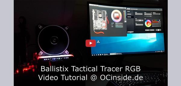 Ballistix Tactical Tracer RGB MOD Software