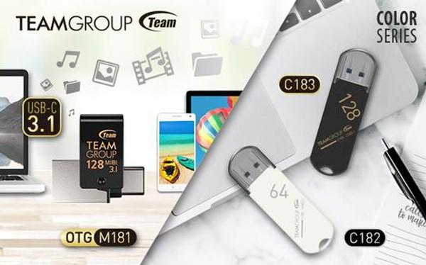 Teamgroup M181 C182 C183 USB Flash Drives