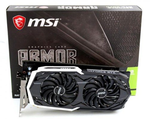 MSI Armor RTX 2070 and Asus Turbo RTX 2070