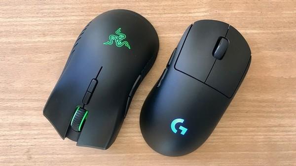 Logitech G Pro Wireless und Razer Mamba Wireless
