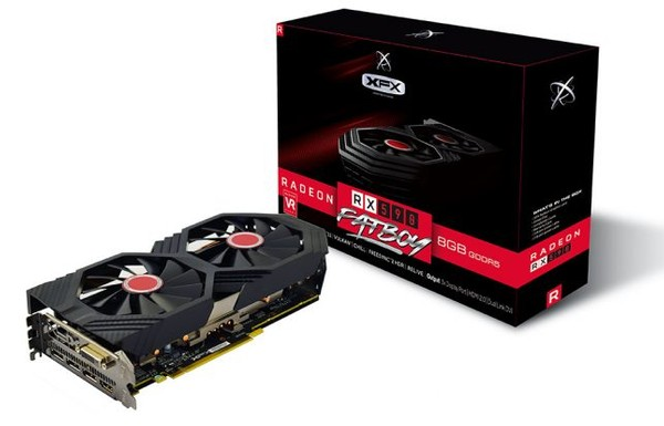 XFX Radeon RX 590 Fatboy Video Card