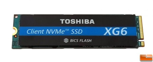 Toshiba XG6 1TB NVMe SSD