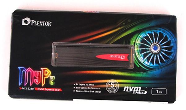 Plextor M9PeG 1TB NVMe SSD
