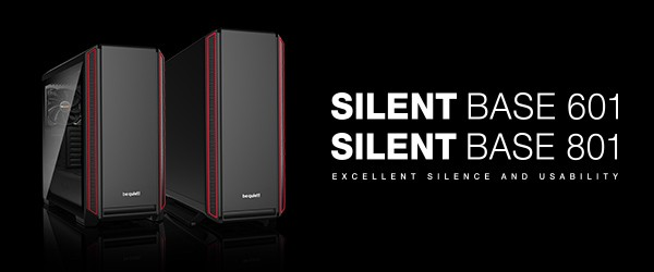 be quiet Silent Base 601 und 801
