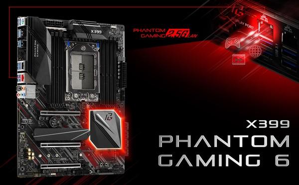 ASRock X399 Phantom Gaming 6