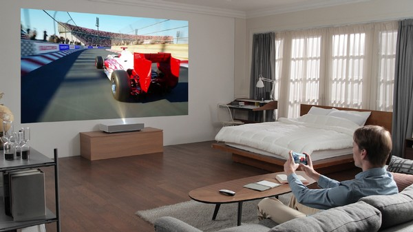 LG CineBeam Laser 4k Ultrakurzdistanz Projektor