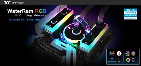 Thermaltake WaterRam RGB Liquid Cooling DDR4-3200