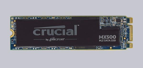 Crucial MX500 1 TB M2 SSD