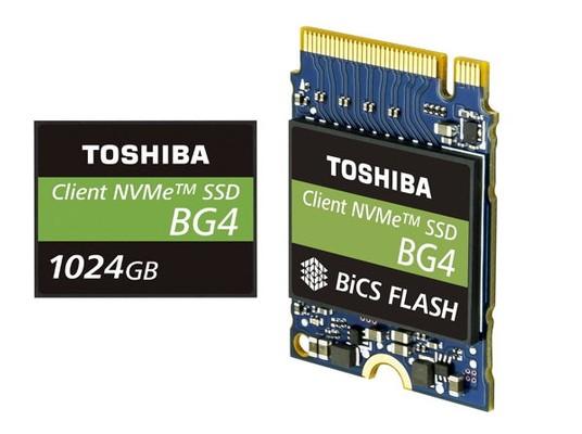 Toshiba Memory BG4 128GB 256GB 512GB und 1TB