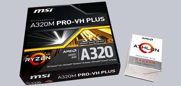 AMD Athlon 200GE Reader