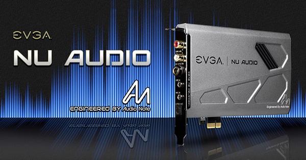 EVGA NU Audio Sound Card