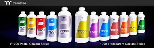 Thermaltake P1000 Pastel and T1000 Transparent Coolant