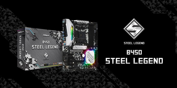 ASRock Steel Legend Motherboards
