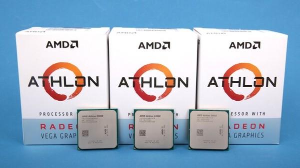 AMD Athlon 200GE 220GE 240GE