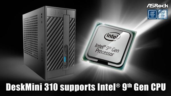 ASRock DeskMini 310 with Intel 9th Gen CPU