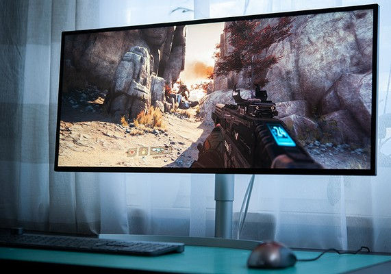 LG 34WK95U-W 5K Monitor