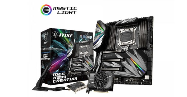 MSI MEG X299 Creation Motherboard