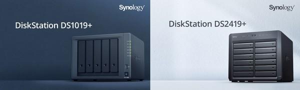 Synology DS1019 und DS2419 NAS