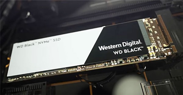 WD Black 500GB NVMe SSD