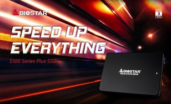 Biostar S100 240GB Plus und S100 480GB Plus SSD