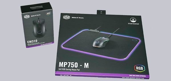 Cooler Master CM310 and MP750