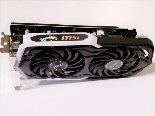 MSI GeForce GTX 1660 Ti ARMOR OC Graphics Card