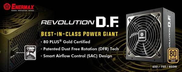Enermax Revolution 650W 750W 850W PSU