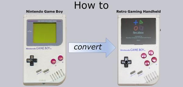 Nintendo Game Boy als Retro Handheld