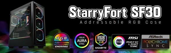 Enermax Starryfort SF30 RGB Gaming Tower