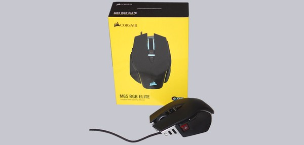 Corsair M65 RGB Elite Gaming Maus