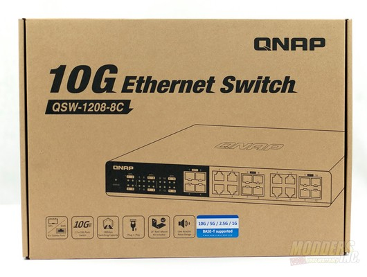 QNAP QSW-1208-8C-US 10GbE Switch