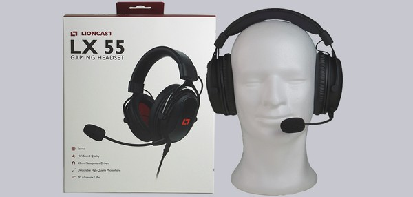 Lioncast LX 55 Gaming Headset