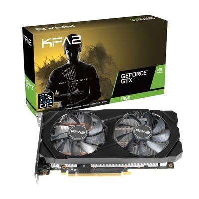 KFA2 GeForce GTX 1660 1-Click OC Grafikkarten