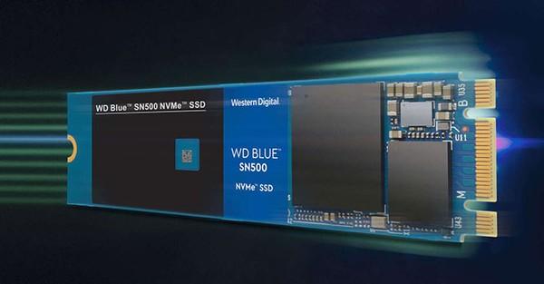 WD Blue NVMe SN500 500 GB SSD