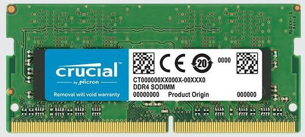 Crucial 16GB DDR4-2666 SODIMM Memory Kit