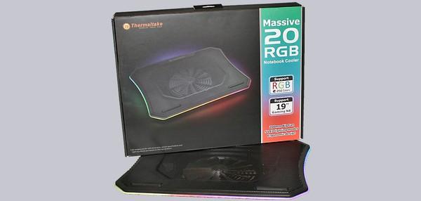 Thermaltake Massive 20 RGB Laptop Cooler